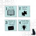 Schule der magischen Tiere - Story Puzzle: Fürchterlich feierlich! (Kinderspiel).