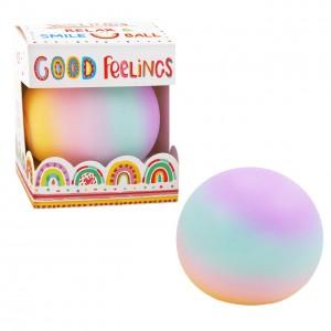GOOD FEELINGS Anti-Stressball - Regenbogen