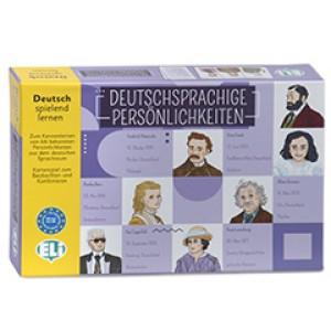 Deutschsprachige Persönlichkeiten.   Deutsch spielend lernen. (Spiel).
