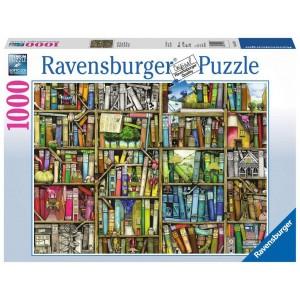 Magisches Bücherregal Puzzle